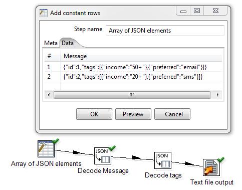 JSON Decoder Plugin Array Support